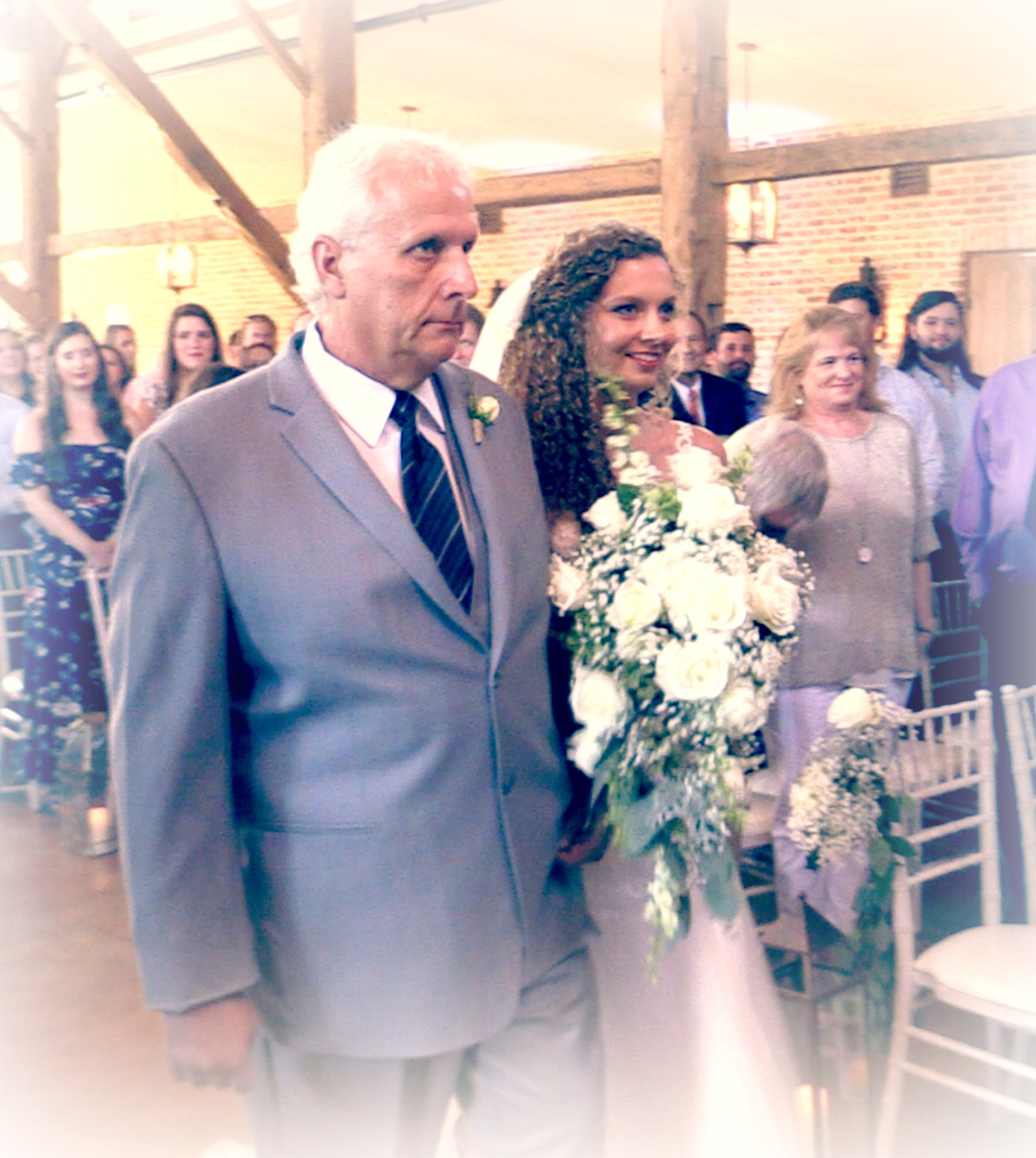 Senneff Wedding Father And Bride
